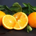 Fresh Valencian oranges